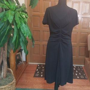 Newport news black stretch dress,sz 14 IEC